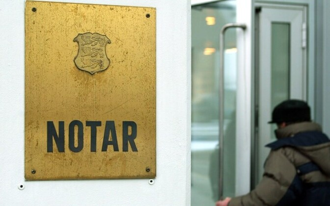 Office of a notary public in Tallinn. Photo is illustrative.