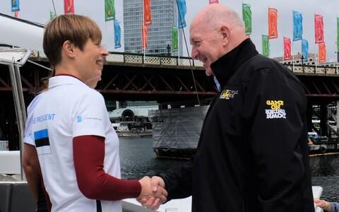 Керсти Кальюлайд встретилась с генерал-губернатором Австралии.
