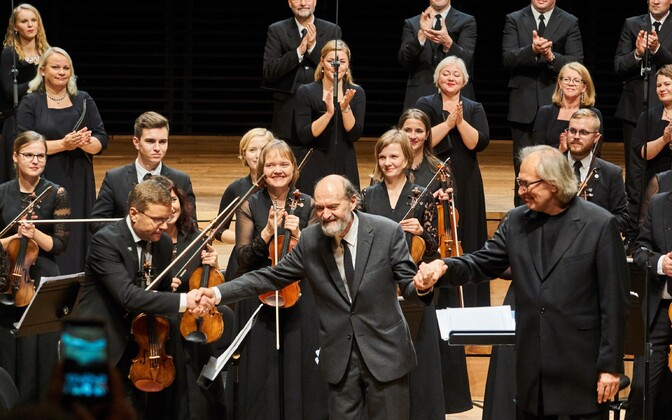 Arvo Pärt's monographic concert in Paris.