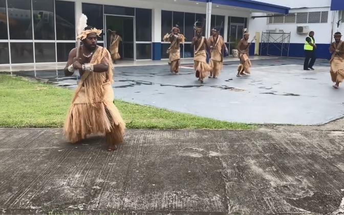 President Kersti Kaljulaidi vastuvõtt Vanuatul