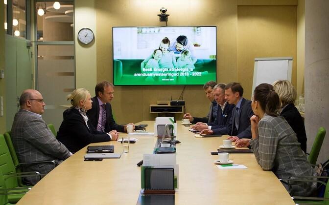 Riigieelarve kontrolli erikomisjoni liikmed tutvusid 22. oktoobri väljasõiduistungil Eesti Energia ASi ettevõtte tegevuse ja järgmise aasta investeeringutega .