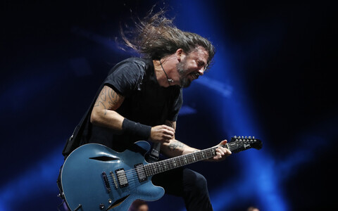 Dave Grohl bändist The Foo Fighters