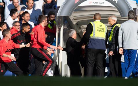 Laupäevane intsident Chelsea - Manchester Unitedi mängu lõpuminutitel