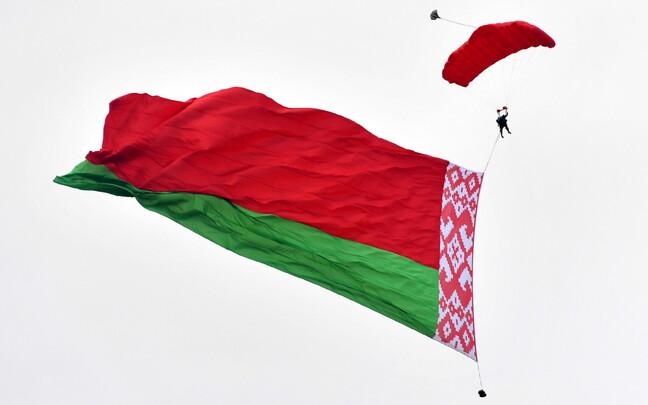 Белорусский флаг.
