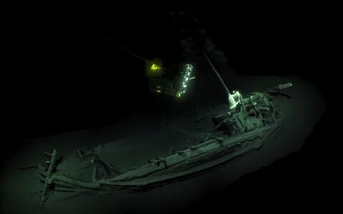 Musta mere põhjast leitud iidne Kreeka kaubalaev.
