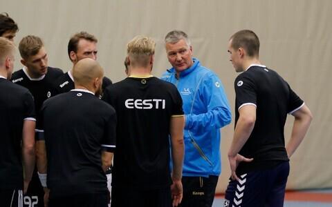 Eesti koondis valmistub peatreener Thomas Sivertssoni käe all Hollandile vastu hakkama