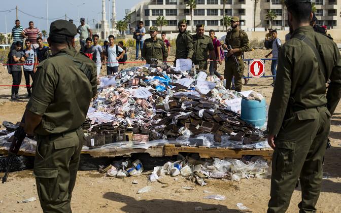 Hamasile lojaalsed Palestiina julgeolekujõud.