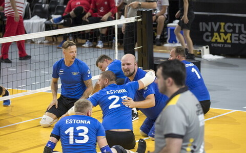 Eesti istevõrkpalli koondis Võitmatute mängudel