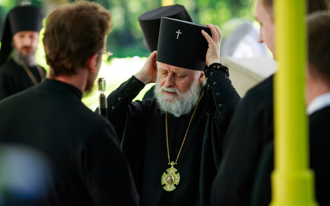 Metropolitan Yevgeny of the Estonian Orthodox Church, which is under the Moscow patriarchy, was turned down for residency in 2018.