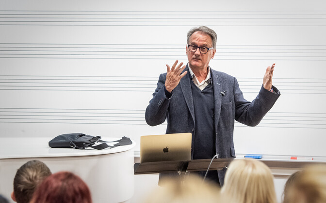 Tony Woodcocki seminar 23. oktoobril EMTA auditooriumis.