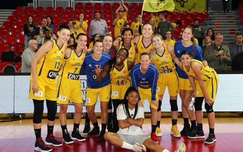 Merike Anderson ja Castors Braine