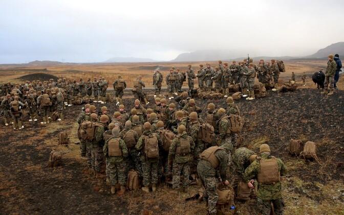 Учения НАТО в Норвегии.