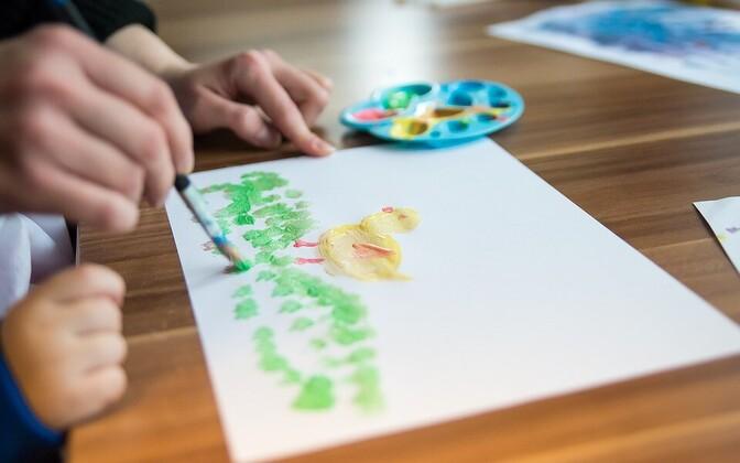 Детский рисунок.
