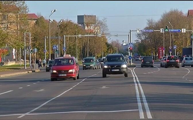 Таллиннское шоссе в Нарве.