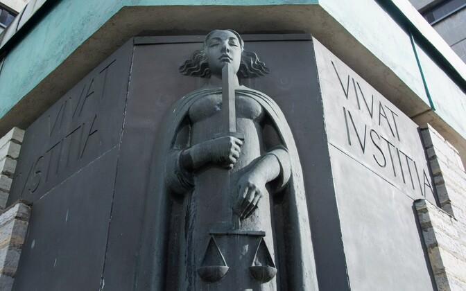 Õigusjumalanna Iustitia