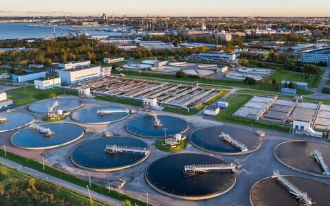 Tallinna Vesi's Paljassaare Wastewater Treatment Plant.