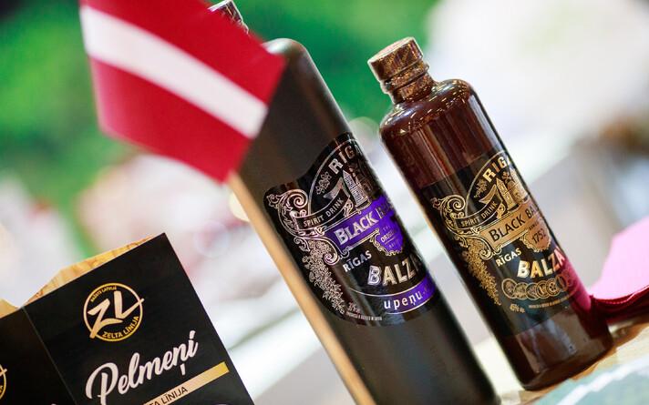 Один из наиболее известных спиртных напитков Латвии - Рижский бальзам.