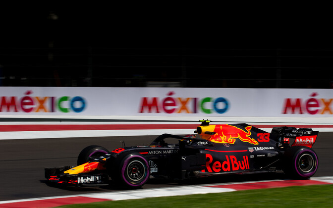 Max Verstappen oli Mehhikos kiireim kõigil kolmel vabatreeningul