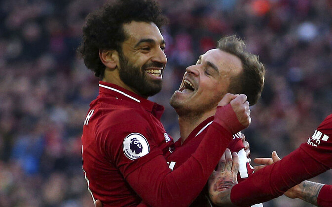 Mohamed Salah ja Xherdan Shaqiri