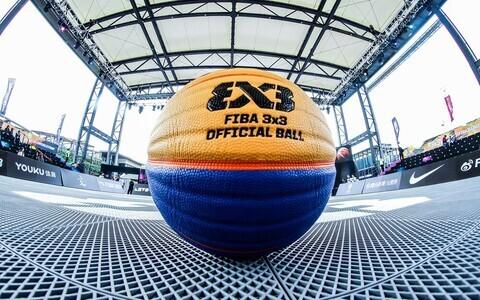 FIBA 3x3 korvpalli maailmaturneel kasutatav pall