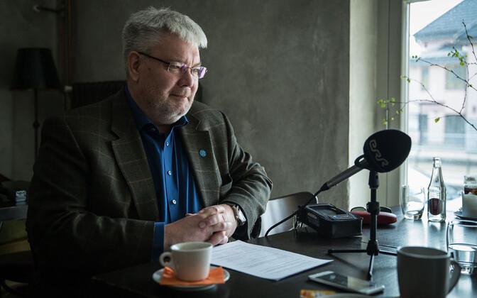 Journalist Toomas Sildam.
