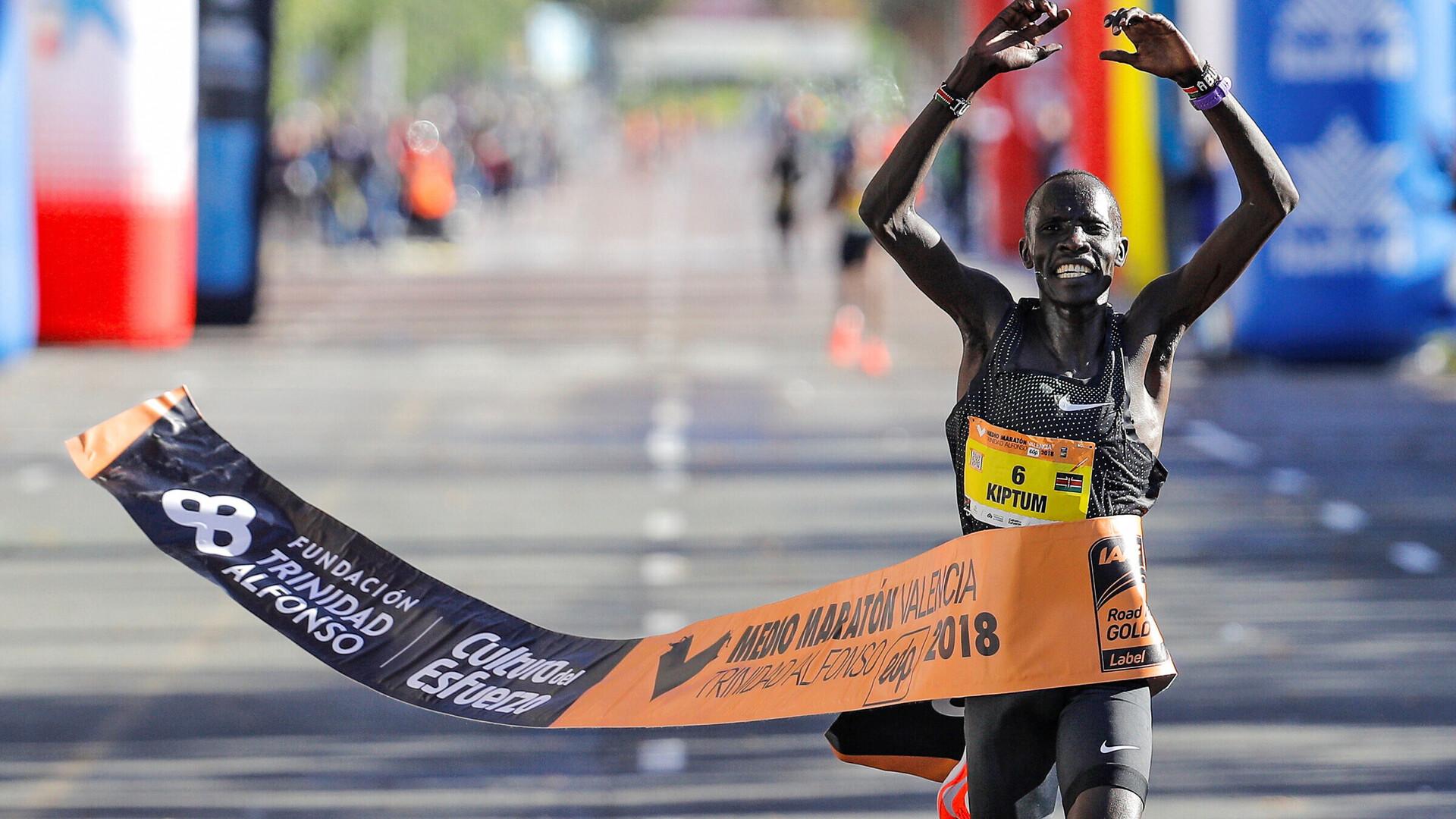 Keenia jooksumees uuendas maailmarekordit  a8dc4b6f5b