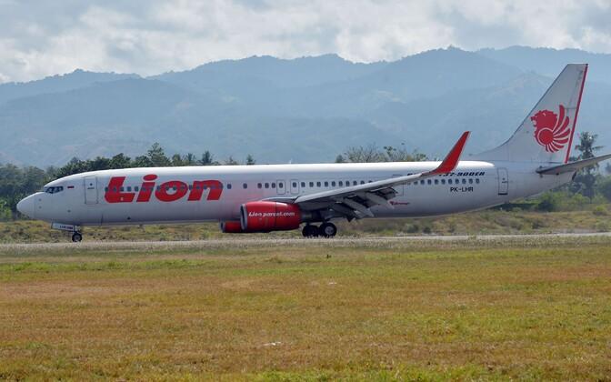 A Lion Air passenger jet.