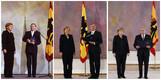 Angela Merkeli nimetamine kantsleriks aastatel 2005, 2009 ja 2013.