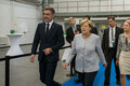 Angela Merkel ja endine peaminister Taavi Rõivas 2016. aastal Tallinnas.
