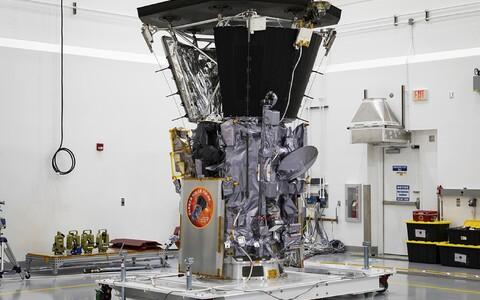 Parker Solar Probe ettevalmistuse ajal.