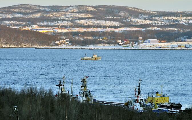 Ujuvdokk Murmanski laevatehases