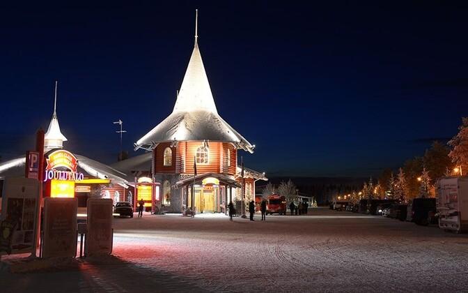 Замок Муми-троллей в Лапландии.