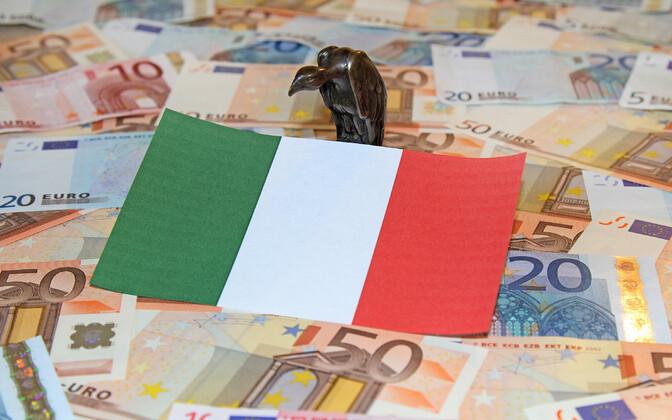 Itaalia majanduskasv aeglustus.