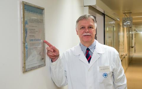 Tartu Ülikooli traumatoloogia ja ortopeedia kliiniku juhataja, professor Aare Märtson.