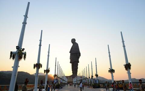 182-meetrine iseseisvuskangelase Sardar Vallabhbhai Pateli kuju