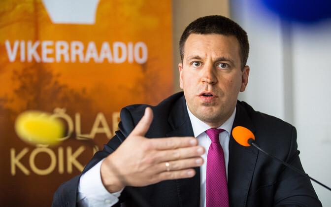 Peaminister Jüri Ratas Vikerraadios.