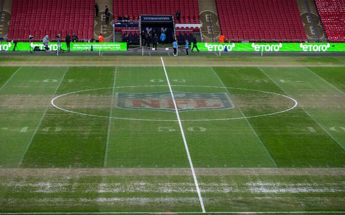 Wembley staadion enne esmaspäevast Tottenham - Man City mängu