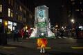 Хэллоуин в Нью-Йорке.