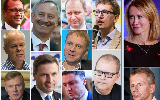 The Reform Party's top candidates in the 2019 Riigikogu elections.