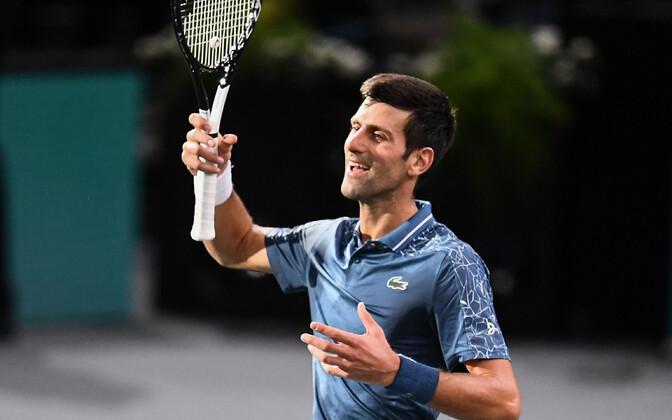 Novak Djokovic Pariisi Masters turniiril