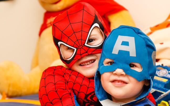 Superkangelased ei pruugi anda oma käitumisega lastele kuigi head eeskuju.
