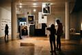 90ndate näituse avamine