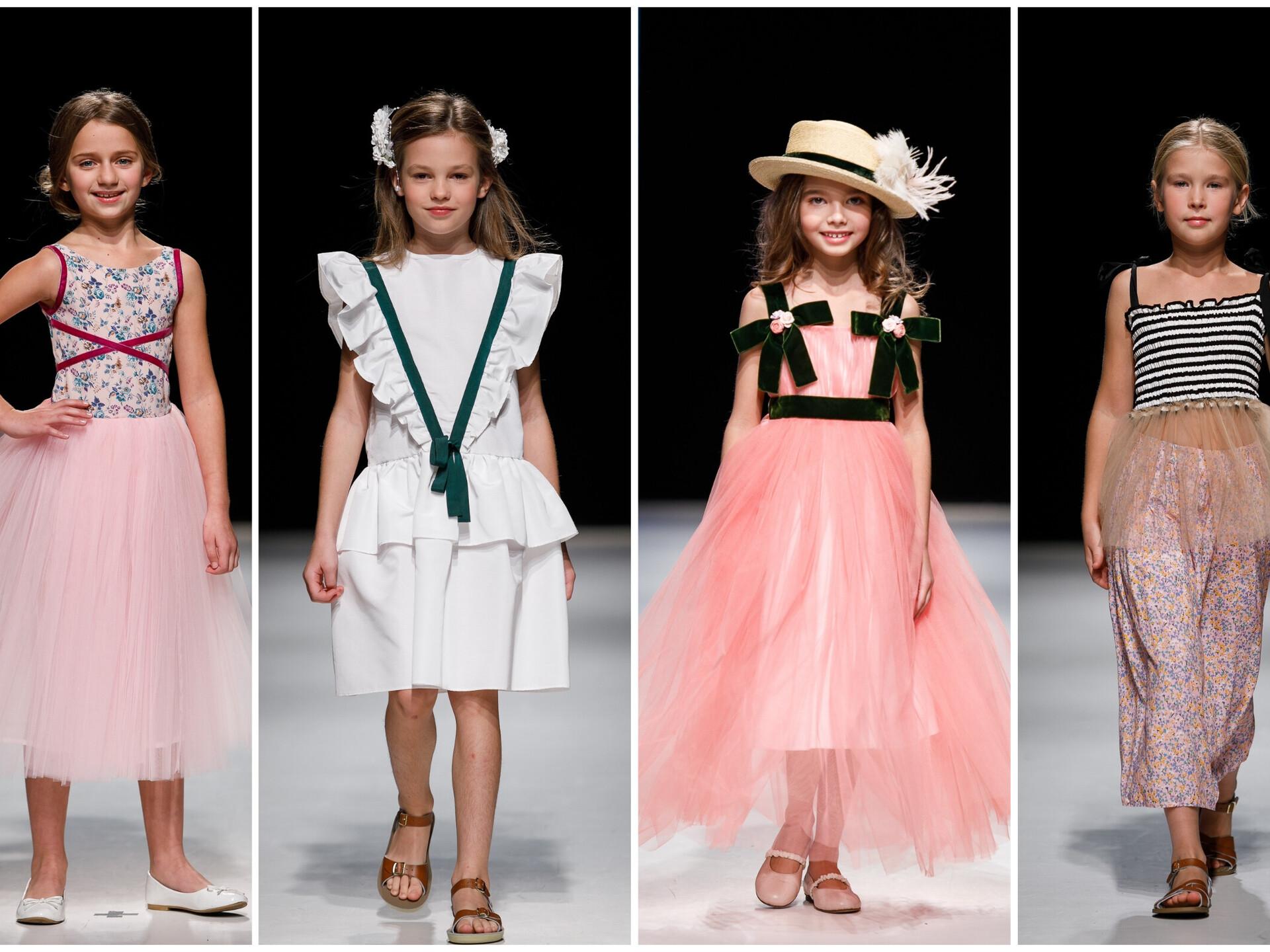 3aad938966af Детская мода на Riga Fashion Week: воланы, тюль, пастельные оттенки ...