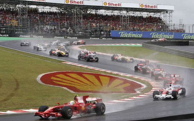 Start Brasiilia GP-l