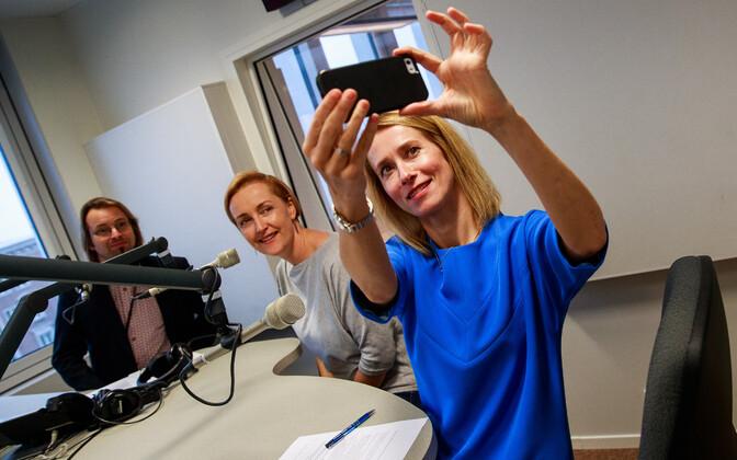Kristina Kallas ja Kaja Kallas Vikerraadios