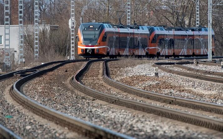 Поезд Elron.