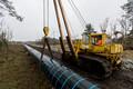 Строительство газопровода в Палдиски.