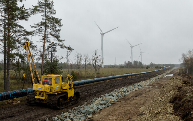 Газопровод Balticconnector. Иллюстративная фотография.