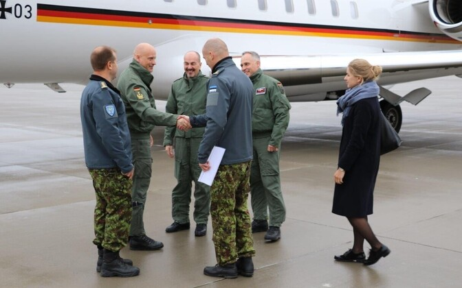 Inspector of the German Air Force Lt. Gen. Ingo Gerhartz visited Ämari Air Base this week. November 2018.