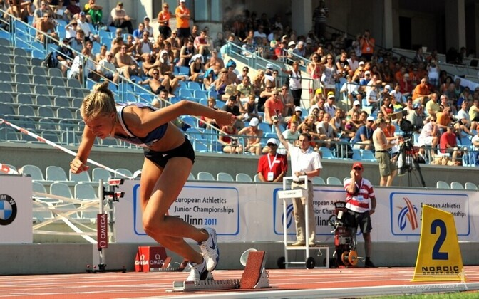 The 2011 European Athletics U20 Championships were also held in Tallinn.
